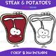 We Go Together Clipart- Steak and Potatoes {jen hart Clip Art}