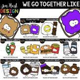 We Go Together Clipart- Growing Bundle {jen hart Clip Art}