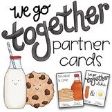 We Go Together Partner Cards