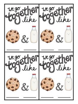 We Go Together Partner Cards