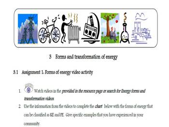 We Got Energy Part 2: Digital stories and graphic organizers