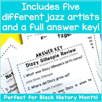 Black History Unit Study - We Got Jazz!