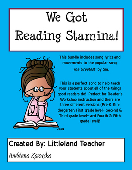 We Got Reading Stamina!