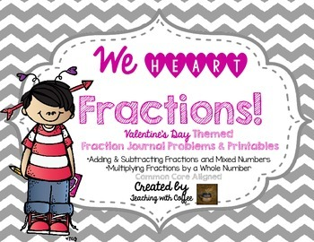 We HEART Fractions!-Valentine's Day Fractions