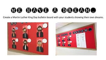 We Have A Dream Bulletin Board