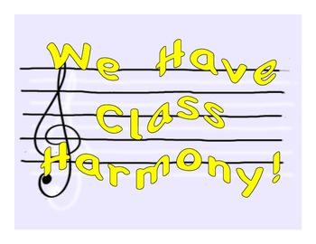 """We Have Class Harmony"" pdf"