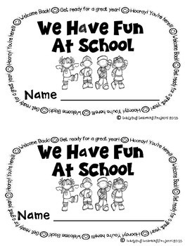 We Have Fun At School (A Sight Word Emergent Reader)