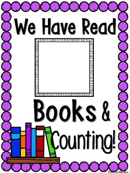 We Have Read | Classroom Book Count Poster Set