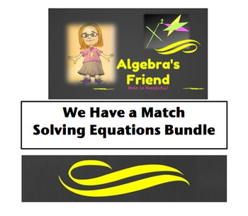 Variety of Equations: We Have a Match Bundle