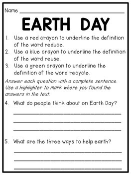 We Heart Earth Day! {FREEBIES}