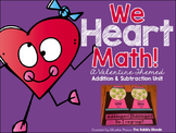 Valentine's Day Math Addition and Subtraction