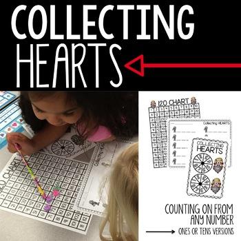 Math Centers - February (Common Core - 1st Grade)