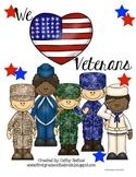 We Heart Veterans! Veteran's Day Activities