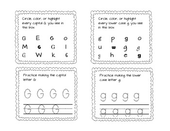 We Know Our Alphabet: 2 Styles of Common Core Alligned ABC Work