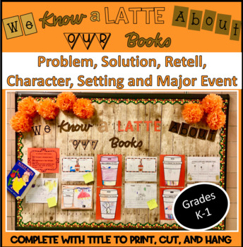 We Know a Latte About Our Books Display!