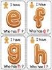 Gingerbread Man Alphabet Literacy Games