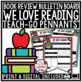 Book Review Template -We LOVE Reading Graphic Organizer • Teach- Go Pennants™