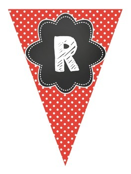 We LOVE Reading - Pennant Banner