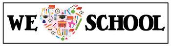 We LOVE School Banner