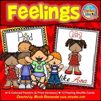 Feelings - {We Let Our Feelings Show!}