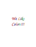 """We Like Colors"" Class Book"