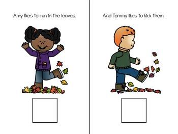We Like Leaves Adapted Book