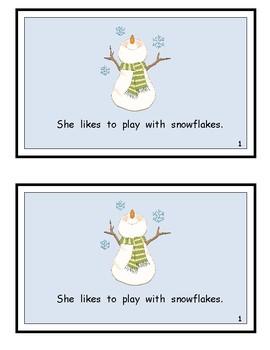 We Like The Snow! Wonders Kindergarten Reader (Unit 6)