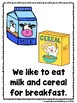 We Like To Eat Things That Go Together (A Sight Emergent Reader)