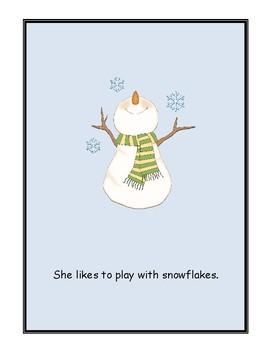 We Like the Snow! Wonders Kindergarten Big Book (Unit 6)