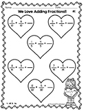 Heart Fraction Addition