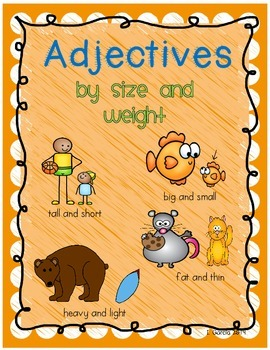 We Love Adjectives