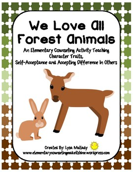 We Love All Forest Animals