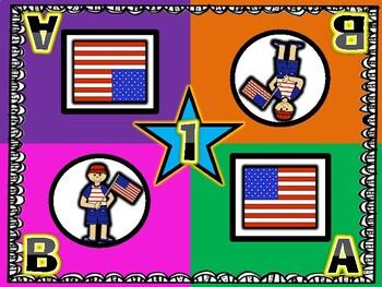 We Love America! Patriotic Kagan Inspired Team Mats