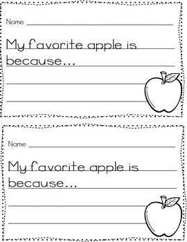 We Love Apples ~ A Complete Unit with Adorable Craft for Bulletin Display!