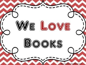 We Love Books February Reading Bulletin Board