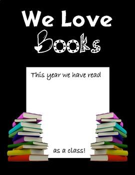 We Love Books (Keep Count)