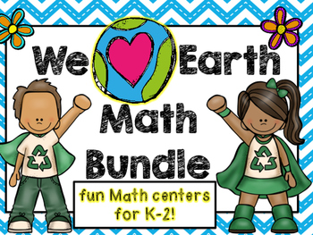We Love Earth Math Bundle