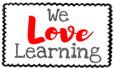 We Love Learning Title Poster