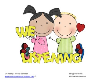 We Love Listening by Following Directions