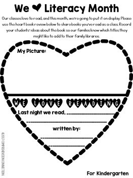 [FREEBIE] We Love Literacy Month