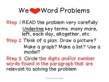 We Love Math Problems
