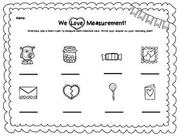 We Love Measurement- A Valentine Measurement Center
