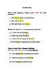 We Love Nouns Worksheet!