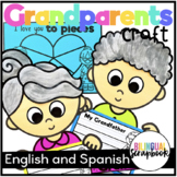 We Love Our Grandparents {Grandparents Day Craftivity in English and Spanish}