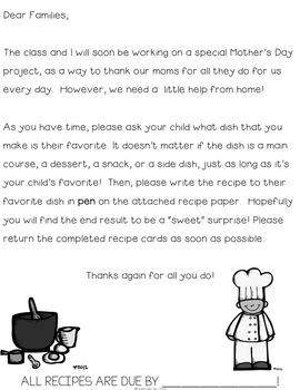 We Love Our Momma's Meals {a Mother's Day Cookbook}