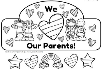 We Love Our Parents Crown and We Love Our Families Crown