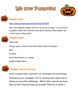 We Love Pumpkins