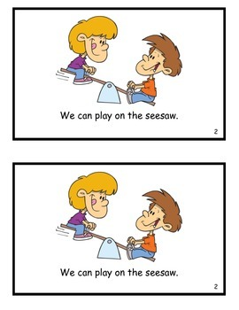We Love Recess! Guided Reader (an Word Family)