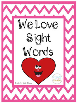 We Love Sight Words