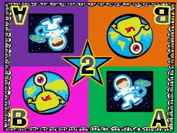 We Love Space! Astronauts and Aliens Kagan Inspired Team Mats